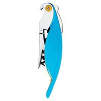 Штопор сомелье Parrot Alessi в форме попугая голубого цвета, фото