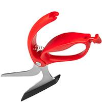 Нож для пиццы Dreamfarm Scizza красного цвета, фото