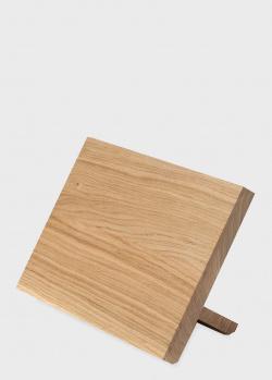 Подставка для ножей с магнитом дубовая Gude Oak на 5 ножей, фото