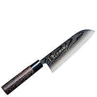 Нож сантоку Tojiro Shippu Blackс лезвием 16,5см, фото