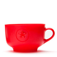 Форма для нарезки теста Monkey Business Cookie Cup красная, фото
