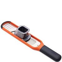 Ручная терка-слайдер Joseph Joseph Handi-Grate оранжевого цвета, фото