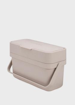 Контейнер для пищевых отходов Joseph Joseph Flume белого цвета, фото