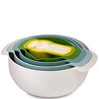 Светлый набор Joseph Joseph Nest кухонной посуды, фото