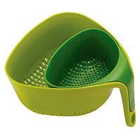 Набор дуршлагов Joseph Joseph Nest зеленый, фото