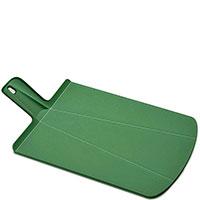 Разделочная доска Joseph Joseph Chop2pot зеленого цвета 48x27x7,3см, фото