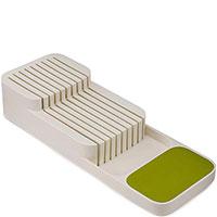 Подставка для ножей Joseph Joseph Drawstore бежевого цвета 39,8x14,3x7,5см, фото