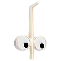 Держатель для кухонных принадлежностей Peleg Design Look Hook белого цвета, фото