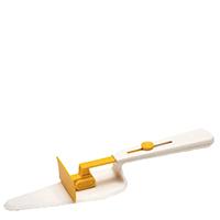 Лопатка для торта Peleg Design CakeDozer с желтым декором, фото