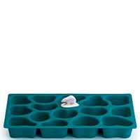 Форма для льда Qualy Polar Ice Tray синего цвета, фото