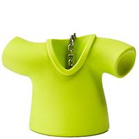 Заварник для чая Qualy Tea Shirt зеленого цвета, фото