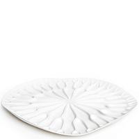 Сушилка-поднос для посуды Qualy Bai Bua Tray белого цвета, фото