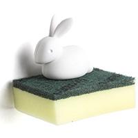 Держатель для губки Qualy Sponge Bunny, фото