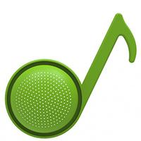 Дуршлаг Rocket Нота зеленого цвета, фото