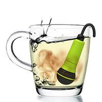 Заварник для чая Rocket Микрофон в зеленом цвете, фото