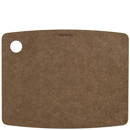 Доска разделочная Epicurean Kitchen коричневого цвета 30,5х22,8см , фото