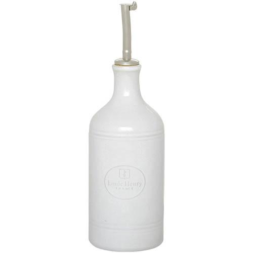 Бутылка для масла и уксуса Emile Henry Classique Blanc керамическая 450 мл, фото