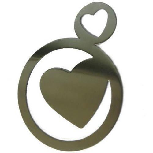 Трафарет для капучино Bodum Heart, фото