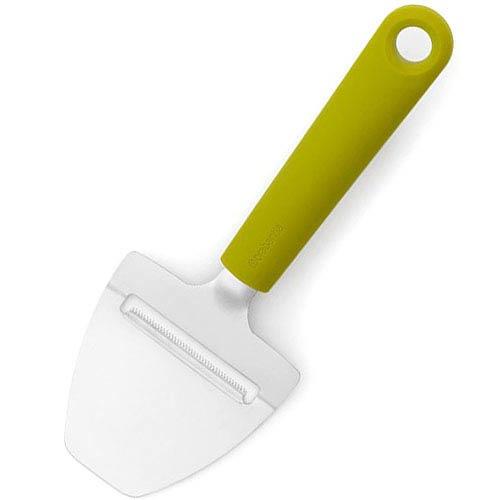 Нож для сыра Brabantia стальной с зеленой ручкой, фото