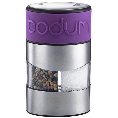 Мельница для соли и перца Bodum фиолетового цвета, фото