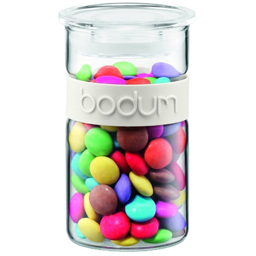 Банка для продуктов Bodum Presso белая 0.25 л, фото