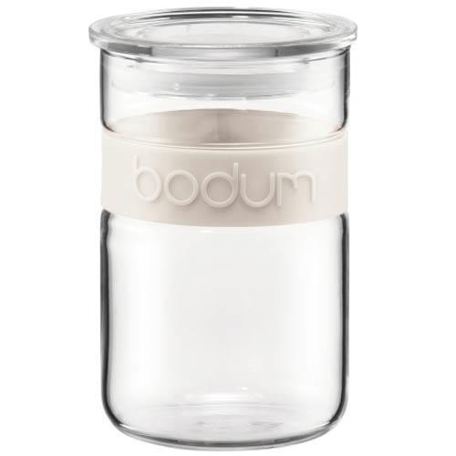 Банка для продуктов Bodum Presso белая 0.6 л, фото