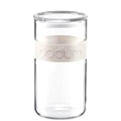 Банка для продуктов Bodum Presso белая 2 л, фото