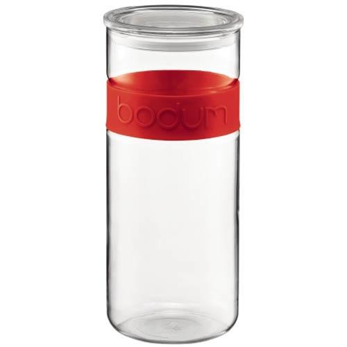 Банка для продуктов Bodum Presso красная 2.5 л, фото