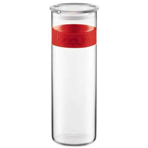 Банка для продуктов Bodum Presso красная 1.9 л, фото