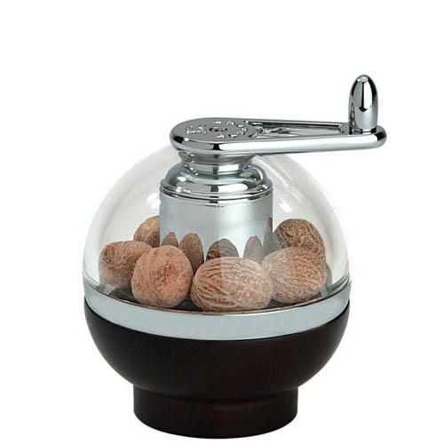 Мельница Peugeot Amboine коричневая для помола мускатного ореха, фото
