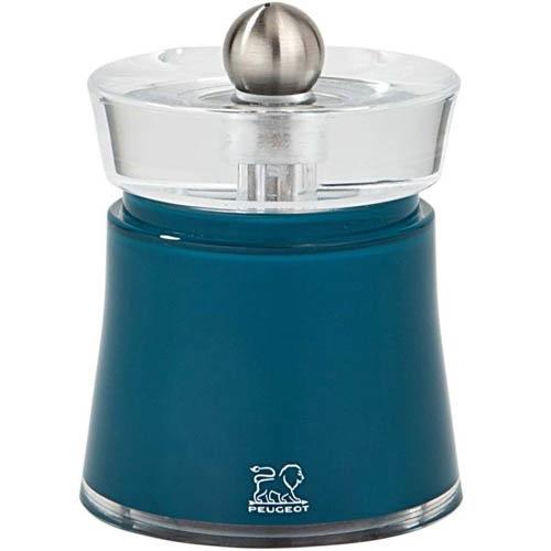 Мельница для перца Peugeot Bali синяя 8 см, фото