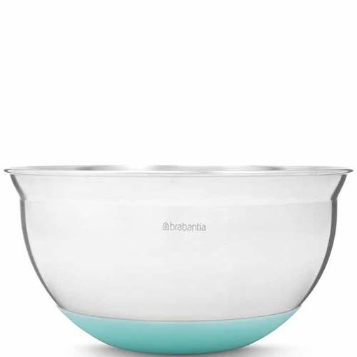 Миска Brabantia объемом 1.6 л с силиконовым дном синего цвета, фото