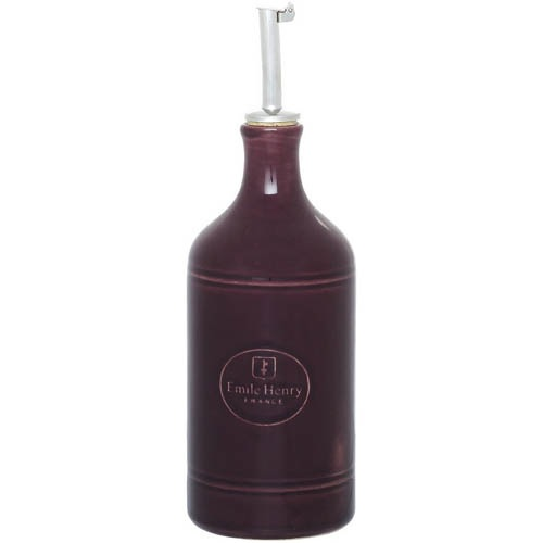 Бутылка для масла и уксуса Emile Henry Urban Colors Figue керамическая 450 мл, фото