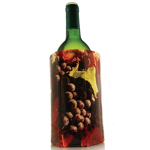 Охладитель Vacu Vin Grapes Blue J-Hook для бутылки вина, фото