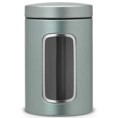 Емкость для хранения Brabantia стальная с прозрачным окошком, фото