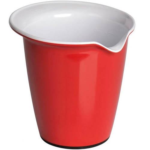 Емкость для смешивания Kaiser Backform Patisserie красная 1 л, фото
