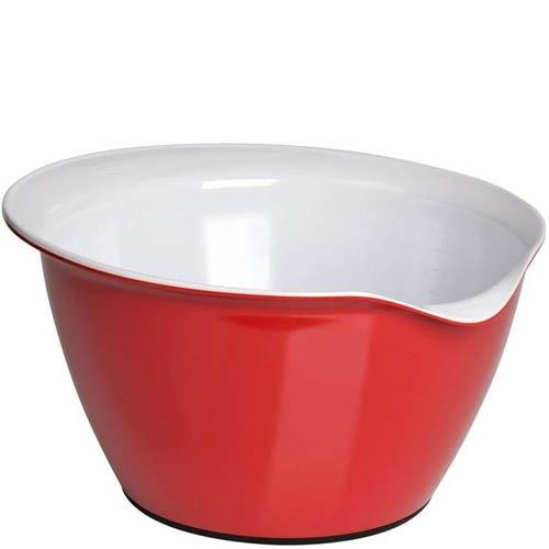 Емкость для смешивания Kaiser Backform Patisserie красная 4 л, фото