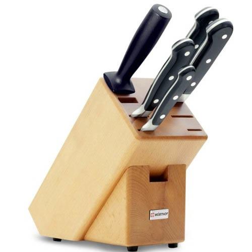 Блок с ножами Wusthof Classic 5 приборов, фото