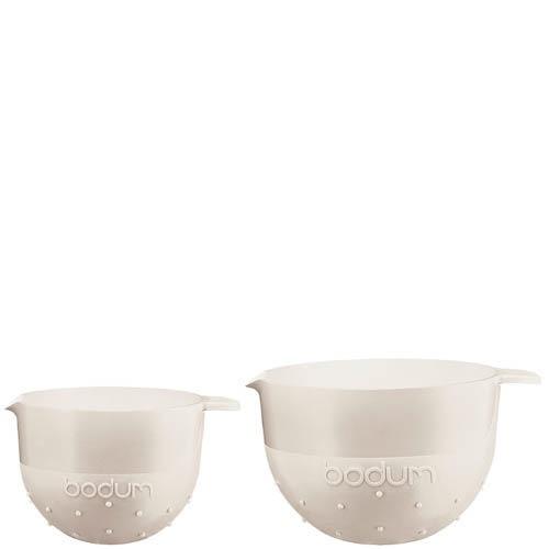 Набор мисок Bodum  объемом 1.4 л и 2.8 л белые, фото