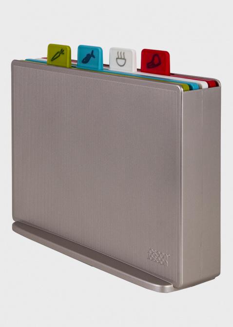 Набор досок Joseph Joseph Index с кейсом для хранения разноцветный, фото