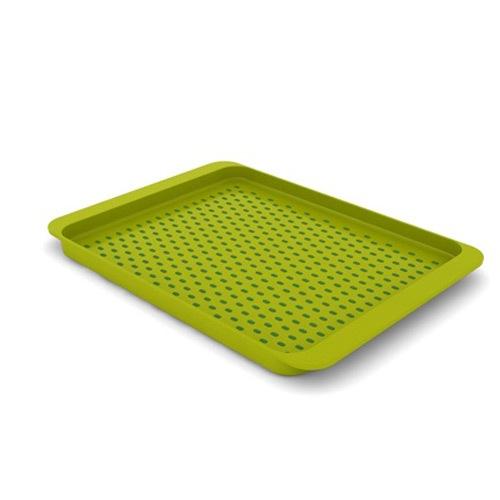 Поднос с нескользящим покрытием зеленый Grip-Tray, фото