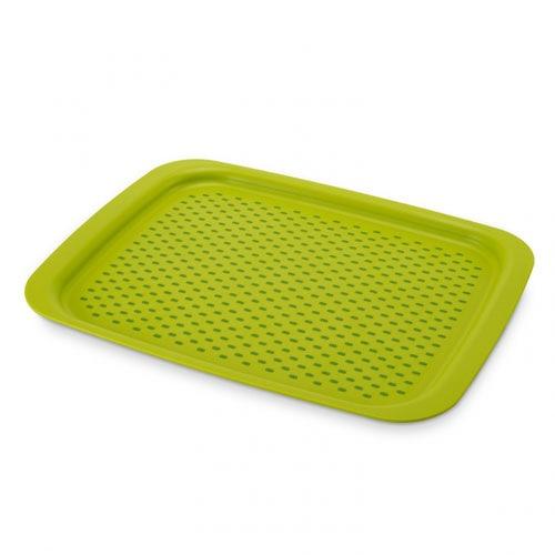 Поднос с нескользящим покрытием Grip Tray Josepf Josepf зеленый, фото