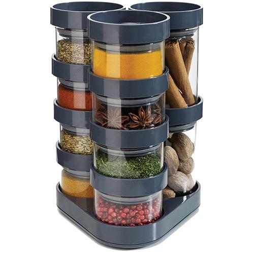 Набор емкостей Joseph Joseph из 10 предметов Food Store серый, фото