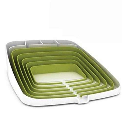 Подставка для посуды Arena Dish Drainer белая, фото