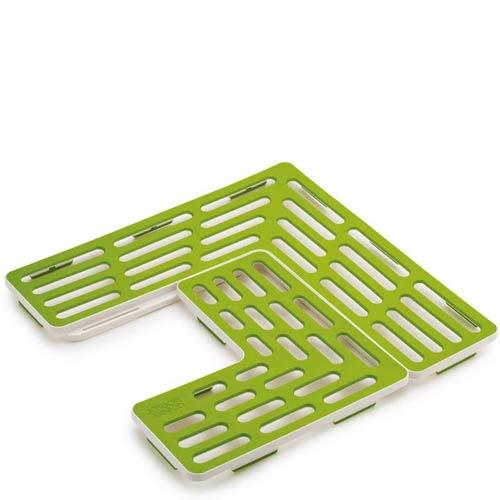 Решетка-трансформер Joseph Joseph для мойки зеленого цвета, фото