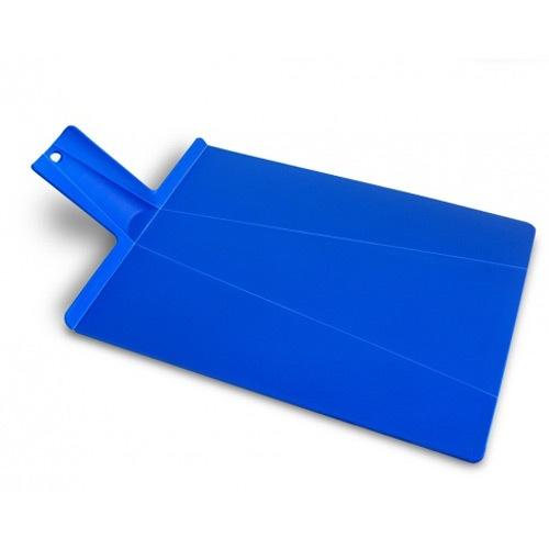 Разделочная доска Joseph Joseph большая голубая Chop2Pot, фото