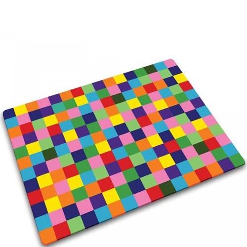 Стеклянная доска Joseph Joseph в цветную шашечку, фото