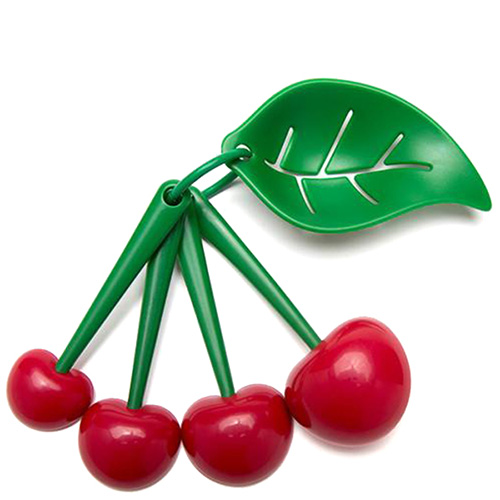 Набор мерных ложек и отделитель желтка OTOTO Mon Cherry, фото