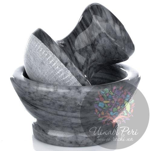 Мраморная ступка с пестиком Granchio Pesto, фото
