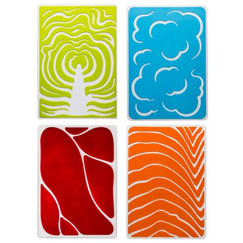 Набор разделочных досок Qualy Slice Cutting Board Set, фото